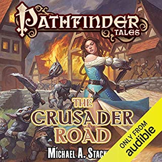 The Crusader Road audiobook cover art
