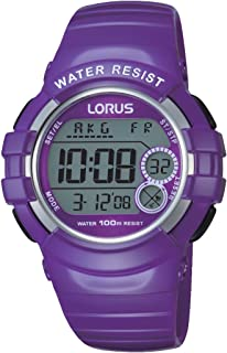 Best lorus ladies digital purple strap watch Reviews