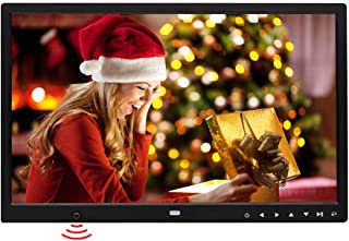 15-inch Digital Photo Frame,HD 1280x800 LED Full Format Display, Motion Sensor Multi-Function Advertising Machine MP3 / MP...