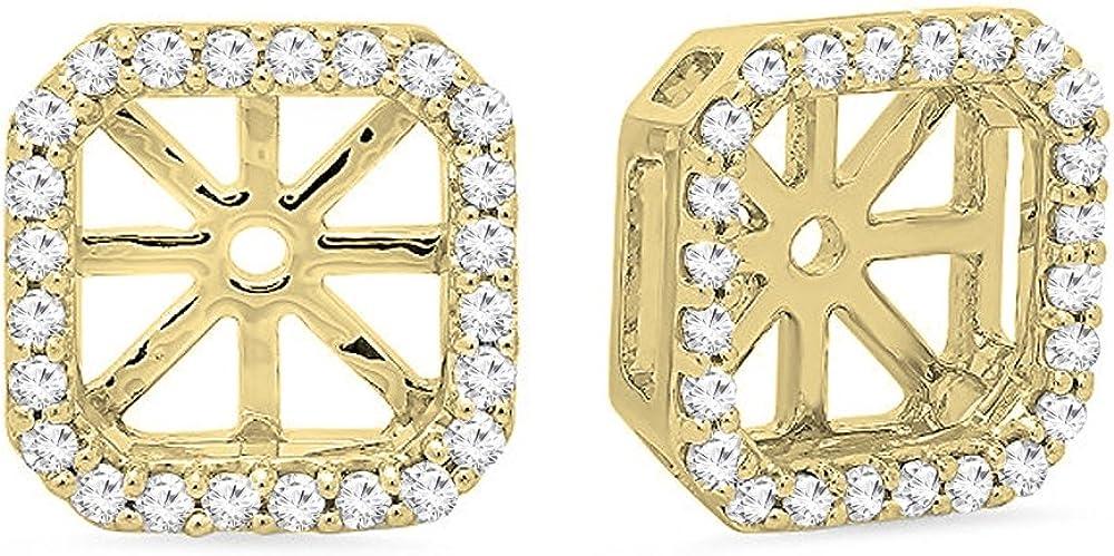 Dazzlingrock Collection 0.26 Carat ctw Round White Sales Rem Diamond Max 80% OFF