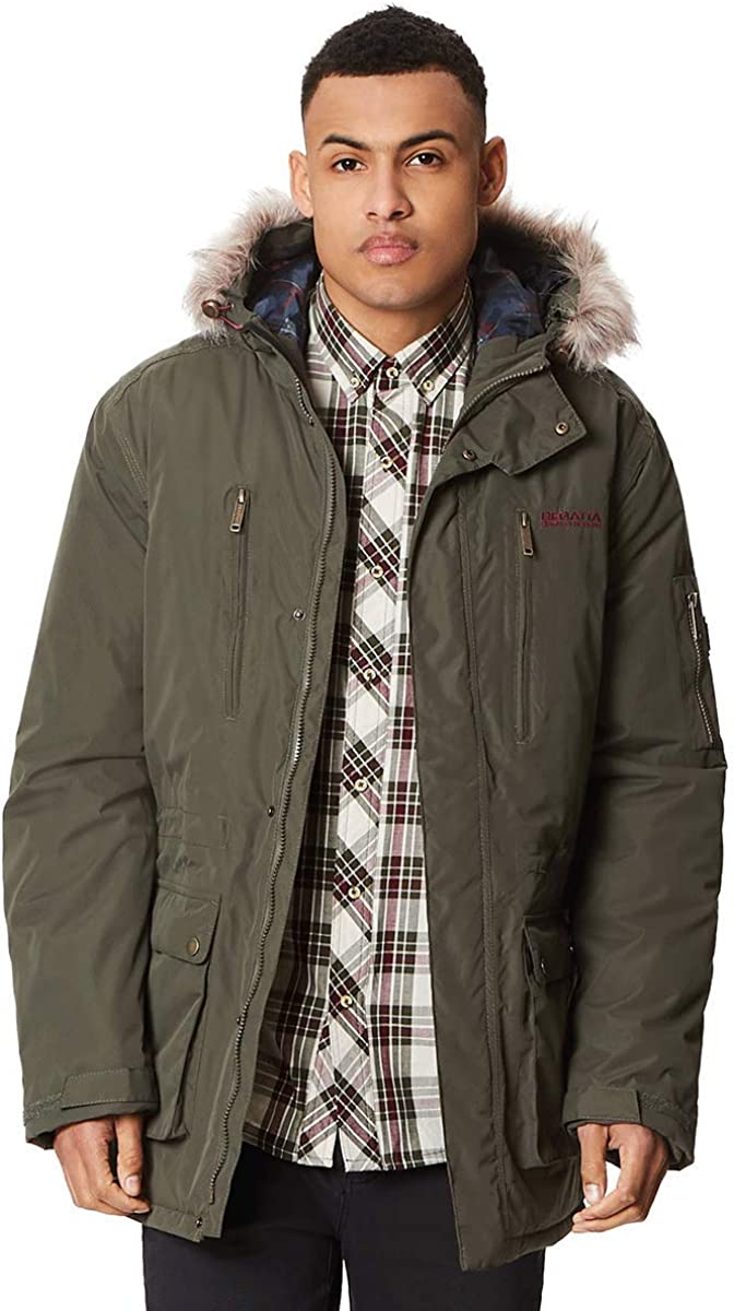 Regatta Mens Salinger Waterproof /& Breathable Thermo-guard Insulated Winter Parka Jacket Waterproof Insulated Jacket