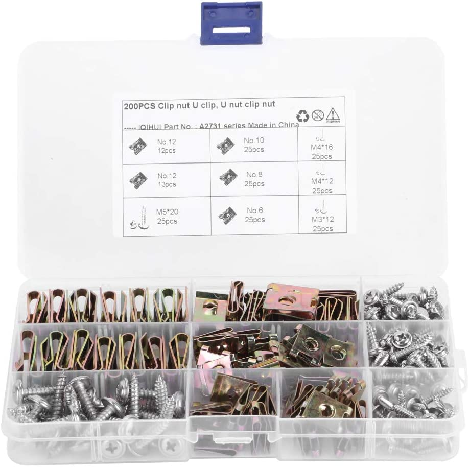 Car U Weekly update Clips ,Yctze Type Nuts 12 Assortment 8 6 10 Inte Ranking TOP16