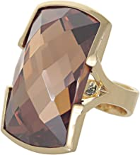 Venus Accessories Women's Gold Plated Ring - 8 US