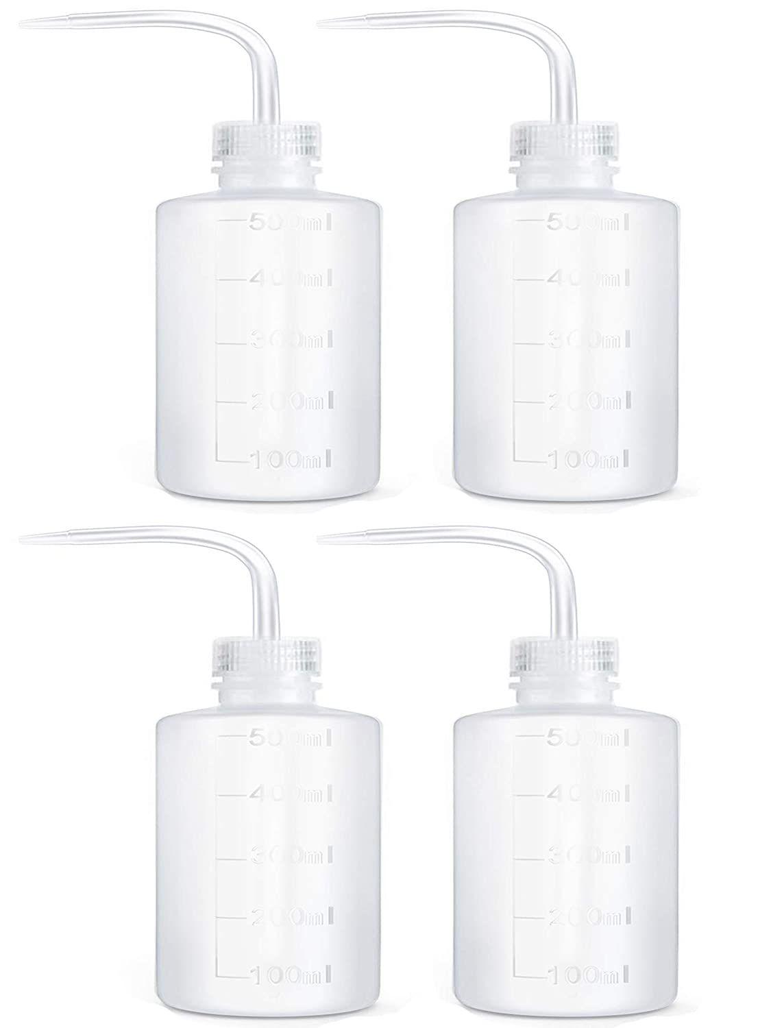 WANBAO 4 Pcs Plastic Safety NEW before selling Squeeze New arrival B 500 Label Tattoo Bottle mL