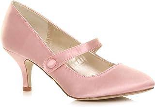 db6fa4ebdec Amazon.co.uk: Pink - Court Shoes / Women's Shoes: Shoes & Bags