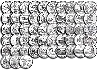 uncirculated state quarter set value