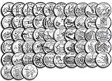 1999 P, D Complete 1999 thru 2009 P&D 112-coin...