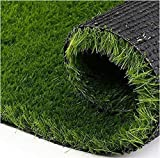 Content: Artificial Grass Carpet. Size- 6.5 x 2 Feet. Color : Natural green, Density: 14700 (Stiches/M2), Grass Height- 30 MM All season usage without any affect from rain or snow. Minimum shedding. Durable and long lasting. Can sustain heat and heav...