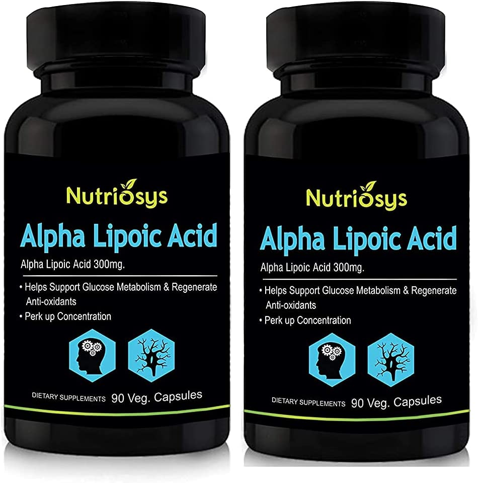 Al sold out. Carlos Nutriosys Alpha Lipoic Acid - Pa Veg Discount is also underway 300mg Capsules 90