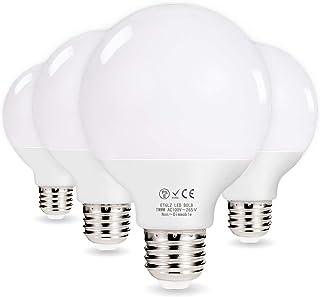 Motronic LED電球 100w E26 口金 ボール形 電球色 3000K 100w形相当 12W G80 広配光タイプ ホワイト 外径81mm 一般電球 led照明 LEDライト 明るい 長寿命 省エネ (4個入り)
