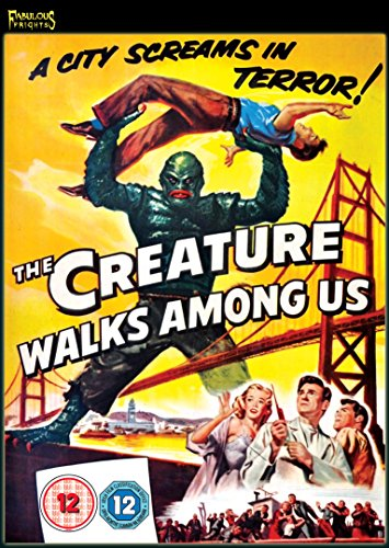 The Creature Walks Among Us [DVD] [UK Import]