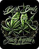 'Best Buds' - Officially Licensed Medium Weight Mink Blanket 79' X 96' Oversize Queen