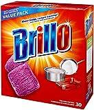 Brillo Steel Wool Soap Pads 794628302188 Original Scent (rot), 30 Stück