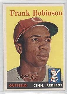 Frank Robinson (Baseball Card) 1958 Topps - [Base] #285