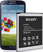 Galaxy S4 Battery,[Upgraded] 3800mAh Higher Capacity Replacement Battery for Samsung..