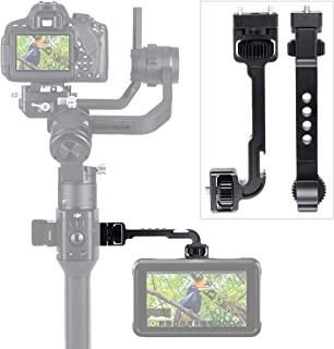 Neewer Field Monitor Mount with 1//4-inch Screw and 360-Degree Rotatable for DJI Ronin-M Handheld Gimbal Fit All Rods with Diameter 24.9mm-25.5mm