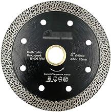 Sierras Circulares 1 unid 105/115 / 125mm Disco de corte de disco de diamante sinterizado prensado en caliente Malla de mármol Hoja de turbo Azulejo Cerámica Sierra de hoja Herramienta De Corte