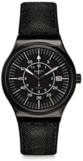 Swatch Irony Automatic Movement Black Dial Unisex Watch YIB400