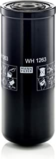 Original MANN FILTER Hydraulikfilter WH 1263 – Für Industrie, Land  und Baumaschinen