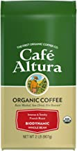 Cafe Altura Whole Bean Organic Coffee, Biodynamic French Roast, 2 Pound