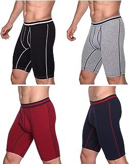 Arjen Kroos Men's Long Leg Boxer Briefs Cotton Underwear