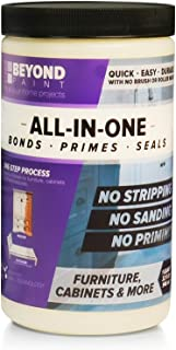 BEYOND PAINT - Furniture, Cabinets and More All-in-One Refinishing Paint -Quart of Bright White