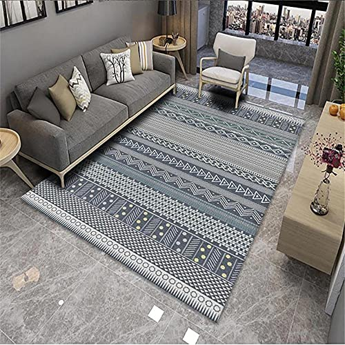 alfombras Cocina Lavables Alfombra Gris, extracto Silla de Oficina patrón geométrico, calorías,...
