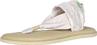 صندل نسائي Sanuk Yoga Sling مطبوع عليه 2، نخيل البتولا، 6 M US