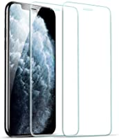 [2 Pack] ESR Screen Protector Compatible for iPhone 11 Pro/iPhone Xs/X [Easy Installation Frame] [Case Friendly],...