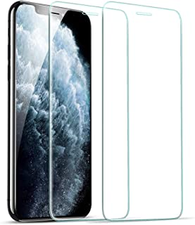 [2 Pack] ESR Screen Protector Compatible for iPhone 11 Pro/iPhone Xs/X [Easy Installation Frame] [Case Friendly], Premium ...