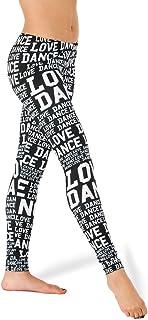 Alexandra Collection Love Dance Leggings for Women