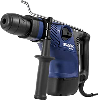 Stark Elite Power Rotary Hammer Variable 6-Speed SDS-Plus Bits Concrete Drilling Demolition Drill Breaker Anit-Vibration w/Carrying Case