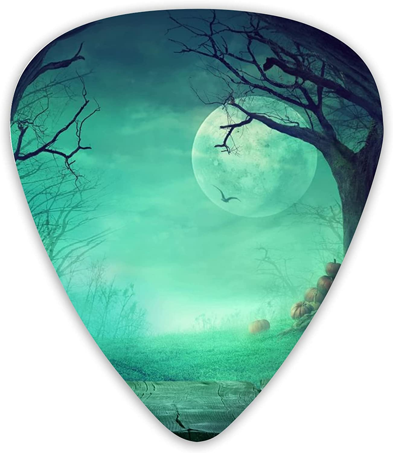 Ranking TOP15 Spooky Forest Max 68% OFF With Dead Trees Picks Guitar 12pcs Plectru