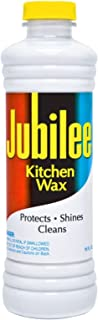 Jubilee Kitchen Cleaning Wax - For Appliances, Surfaces & Bathroom 15 oz (Pack of 2)