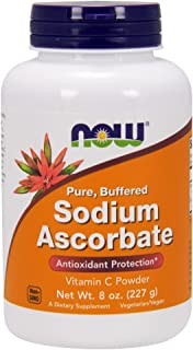 NOW Supplements, Sodium Ascorbate Powder, 8-Ounce