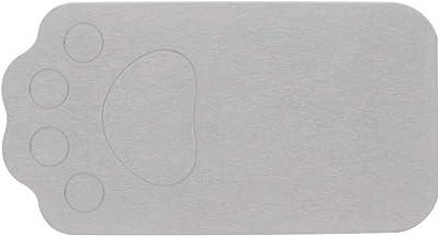 ベストコ さらっと 珪藻土マット グレー 46×24.5cm ペット用 洗える ND-9152