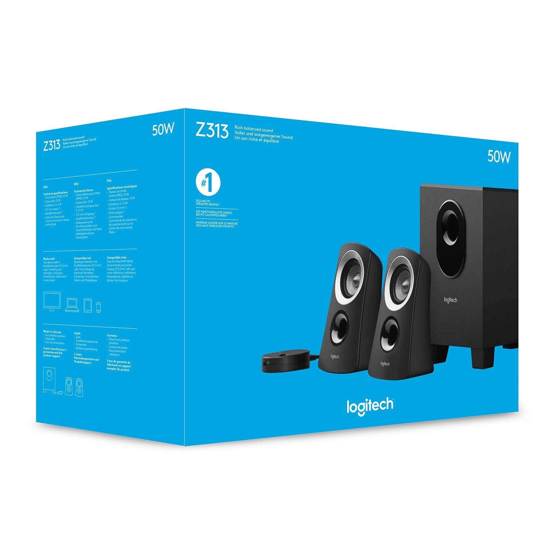 Logitech Logitech Z313 2.1 Speaker System: Buy Online at Best Price in UAE  - Amazon.ae