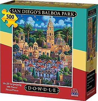 Dowdle Jigsaw Puzzle - San Diego s Balboa Park - 500 Piece