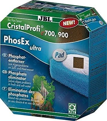 JBL PhosEx Ultra Pad Matériel Filtrante pour CristalProfi e700/e900 pour Aquariophilie 500 ML