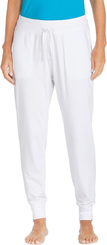 Coolibar UPF 50+ Women's Weekend Pants  Sun Predective (XXLarge White)