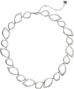 "Open Petal Collar Necklace 16"""
