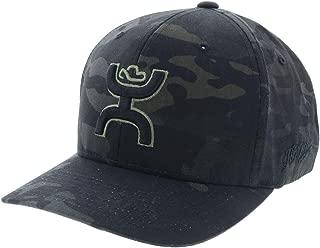 HOOEY Chris Kyle Camo Flexfit Green Logo Hat