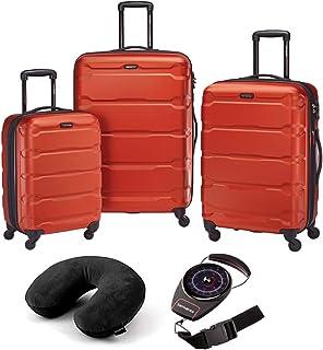 Omni Hardside Luggage Nested Spinner Set of 3 with Travel Kit