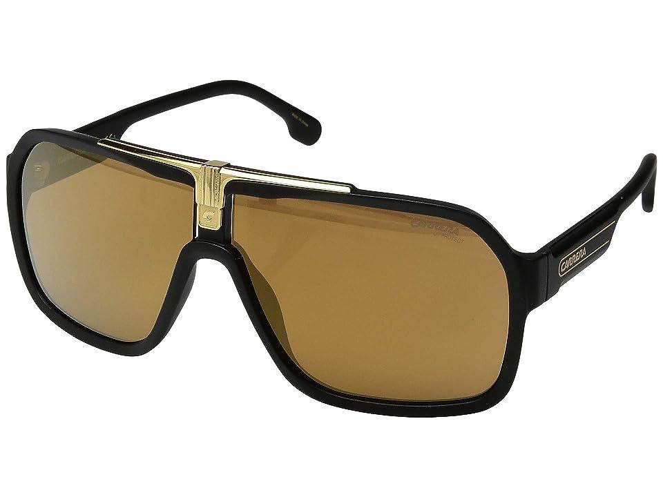 Carrera Carrera 1014/S (Black/Brown/Gold) Fashion Sunglasses