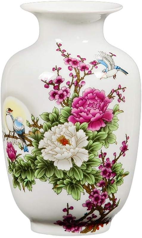ZHJING Ornament Vase Ceramic Arrangement Las Vegas Mall Decoration Flower Home Our shop most popular