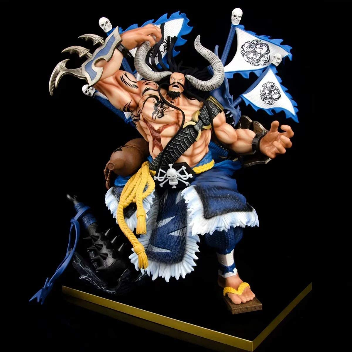 35.5CM ONE Tulsa Mall Piece Kaido Armed God The War of Mesa Mall Strongest i Creature