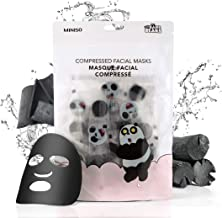 MINISO We Bare Bears Compressed Facial Masks Sheet for Women, 40PCS