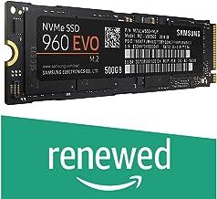 Samsung 960 EVO Series - 500GB NVMe - M.2 Internal SSD (MZ-V6E500BW) (Renewed)