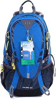 30L al Aire Libre Ciclismo Senderismo Mochila Resistente al Agua Corriendo Mochila Camping con Lluvia Cubierta S2310