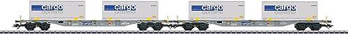 M lin 47096 Containertragwagen-Set SBB